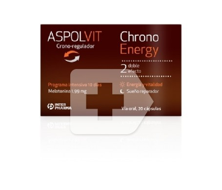 Aspolvit Chrono Energy 20caps