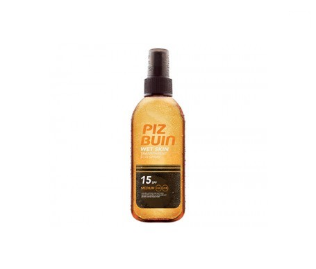Piz Buin® Wet Skin SPF15+ aceite spray 150ml