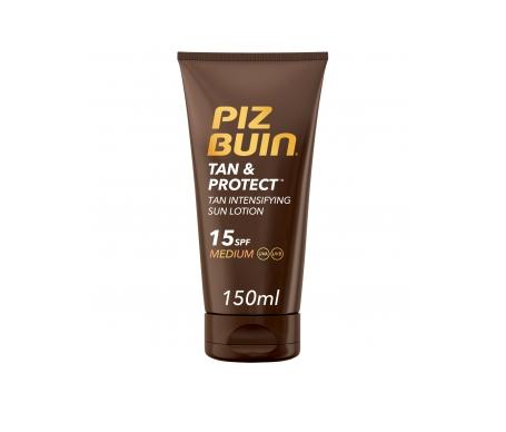Piz Buin® Tan&Protect SPF15+ loción intensificadora bronceado 150ml
