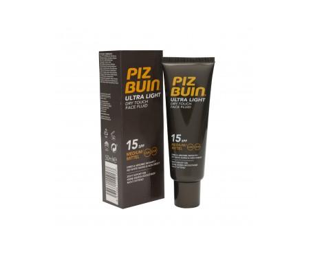 Piz Buin® Ultra Light SPF15+ crema facial tacto seco 50ml