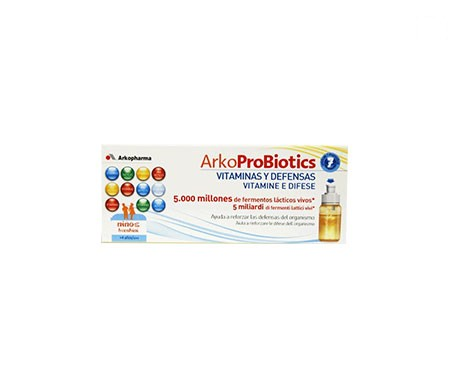 Arkoprobiotics vitaminas y defensas niños 7uds