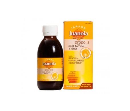 Juanola® jarabe própolis con miel y tomillo 125ml