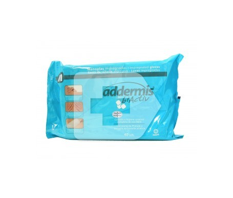 Addermis biActiv esponja enjabonada 40uds
