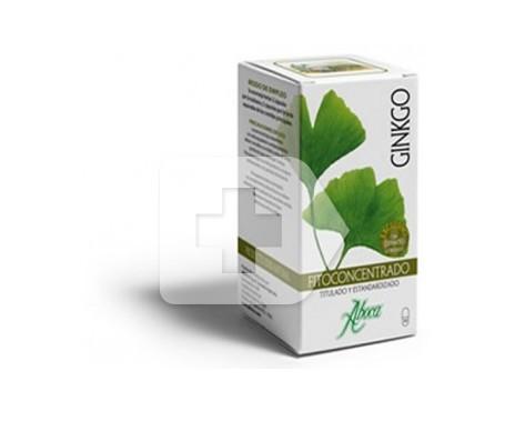 Fitoconcentrado ginkgo Aboca® 500mg 50cáps