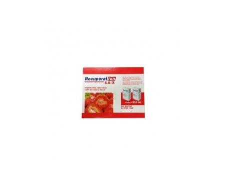 Recuperat-ion® S.R.O. suero oral fresa 250ml+250ml