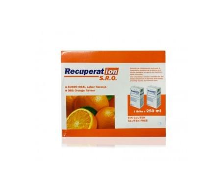 Recuperat-ion® S.R.O. suero oral naranja 250ml+250ml