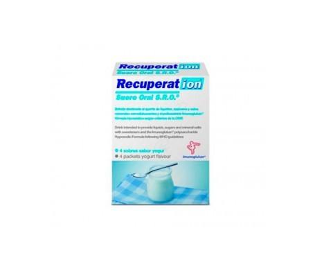 Recuperat-ion Suero Oral S.R.O. sabor yogur 4 sobres