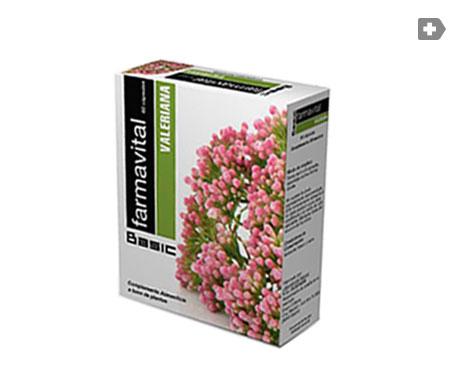 Valeriana Farmavital 60cáps