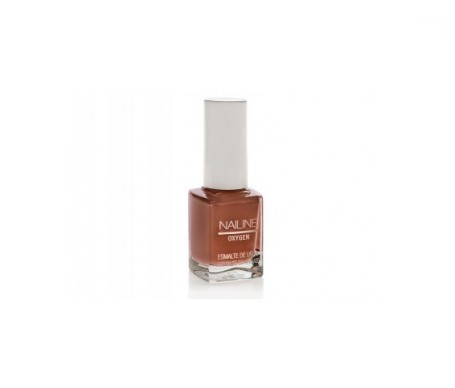 Nailine Oxygen esmalte de uñas color marrón perla nº7 12ml