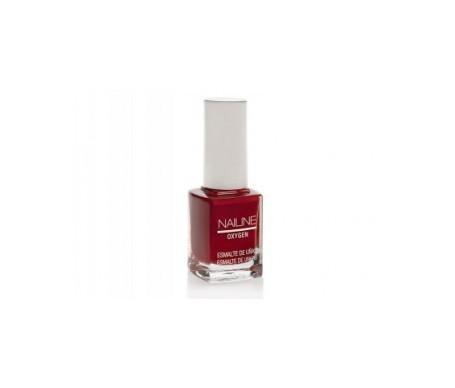 Nailine Oxygen esmalte de uñas color rojo nº10 12ml