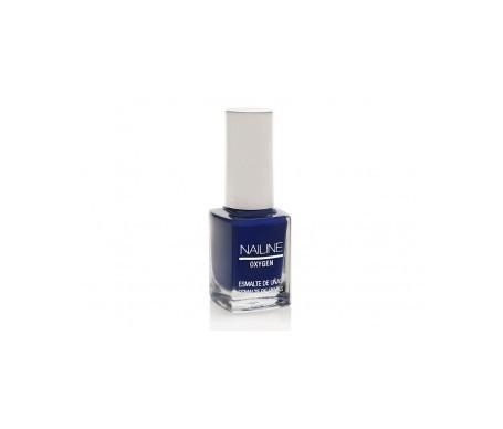 Nailine Oxygen esmalte de uñas color azul perla nº25 12ml