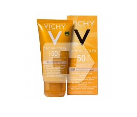 Vichy Capital Soleil crema facial SPF50+ sin perfume y sin parabenos 50ml