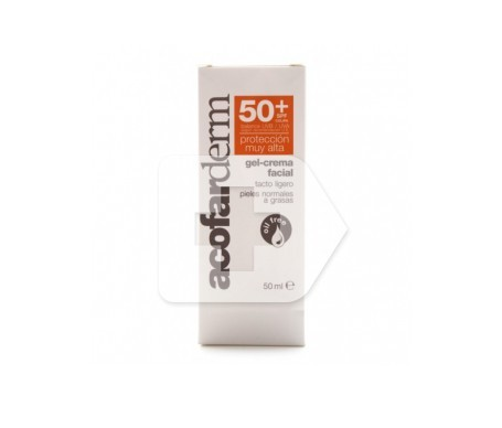 Acofarderm gel-crema facial +50 50ml