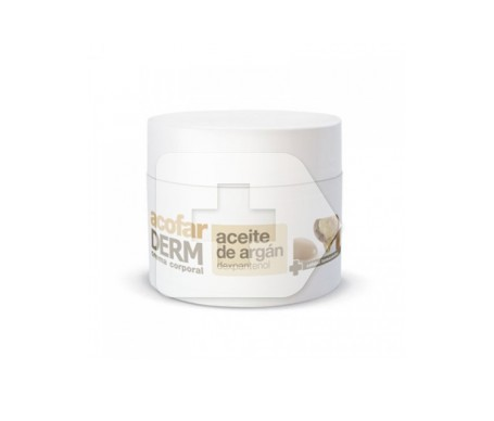 Crema viso all'olio di argan Acofarderderm SPF15+ 50ml