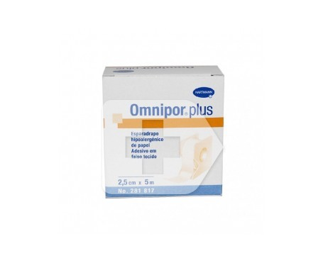 Omnipor esparadrapo papel 5mx2,5cm