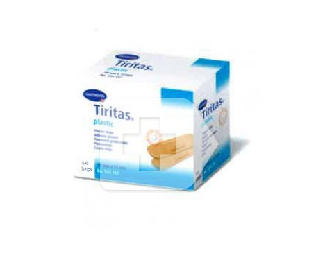 Tiritas® plástico caja 250uds