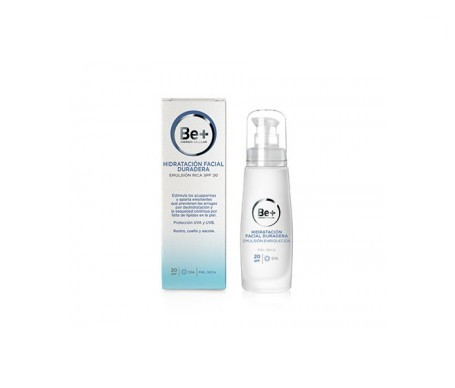 Be+ dry skin rich emulsion SPF20+ 50ml
