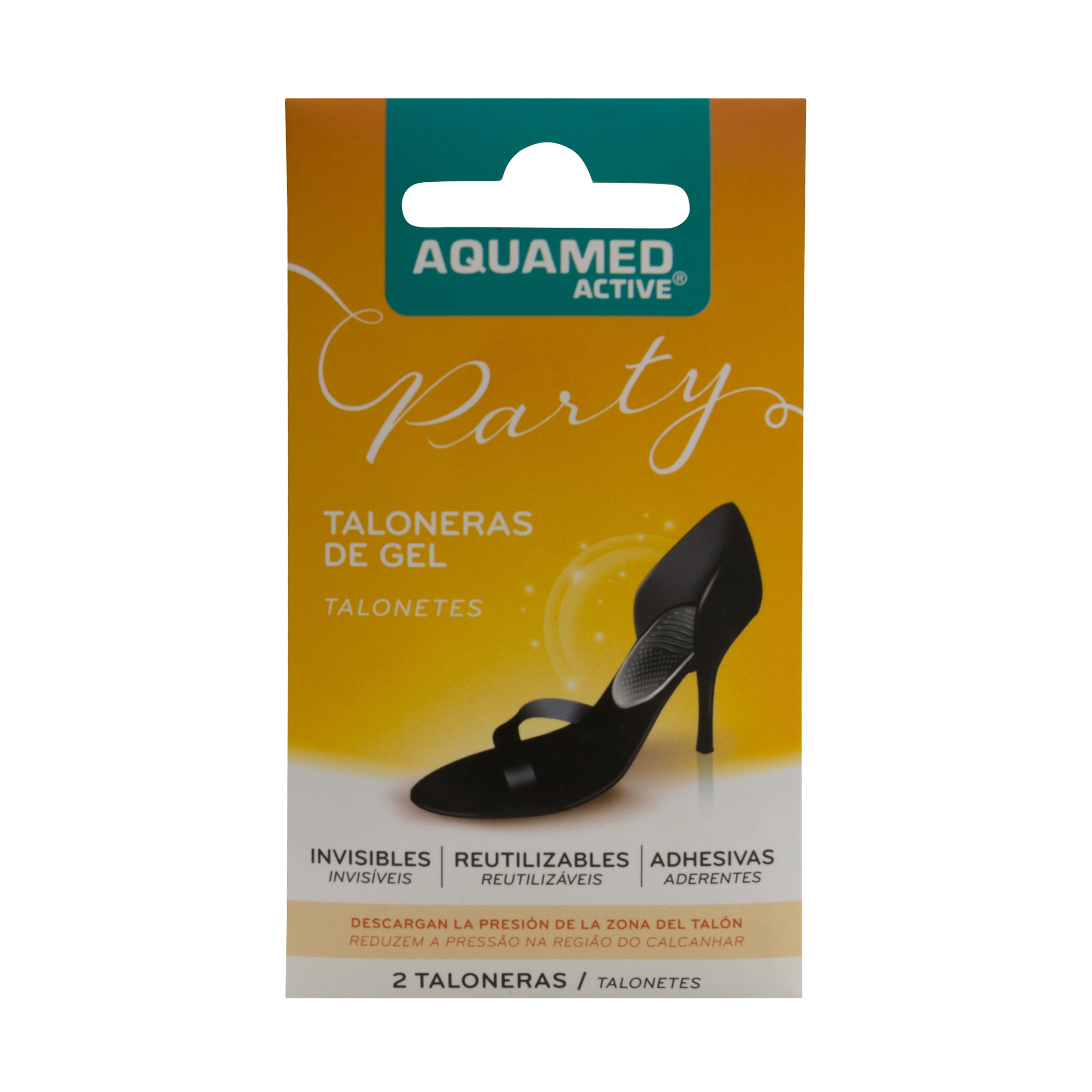 Aquamed Active taloneras gel 2uds