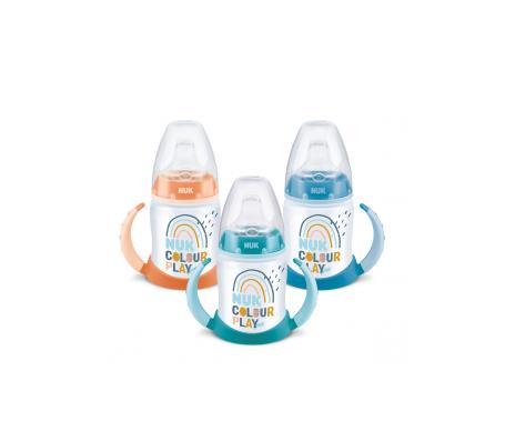 Nuk Biberón Entrena First Choice  boquilla silicona talla 2 150ml