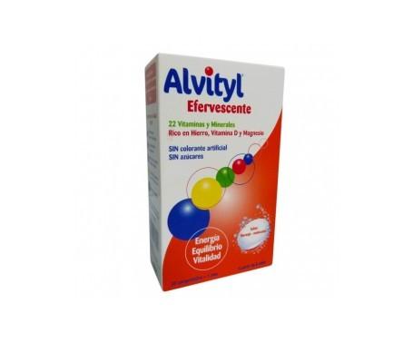 Alvityl Effervescent 30comp