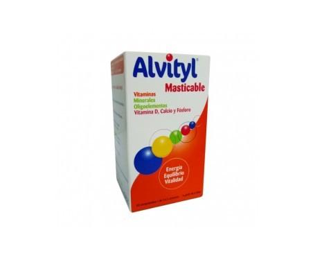 Alvityl masticable 40comp