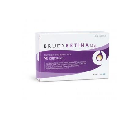 BrudyRetina 1,5 g 90 capsules