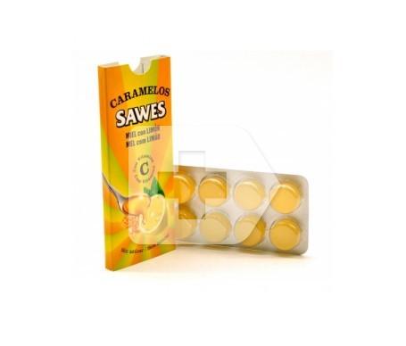 Sawes caramelos miel y limón 8uds