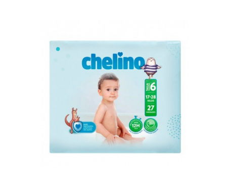 Chelino Fashion&Love pañales T6 17-28kg 27uds