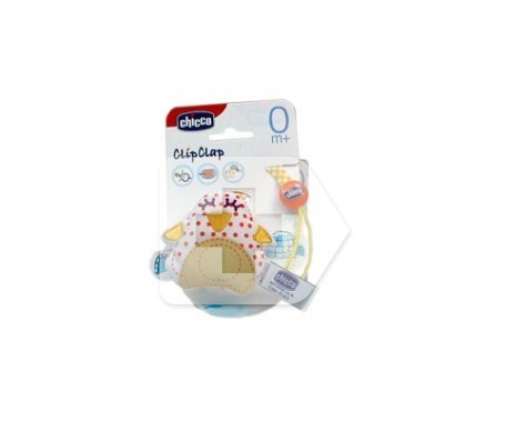 Chicco® Clipclap Protector chupetes con tejido 1ud