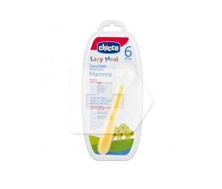 Chicco® cuchara de silicona 1ud