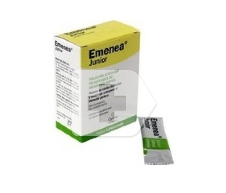 Emenea Junior sobres monodosis cereza 5ml 12 sobres