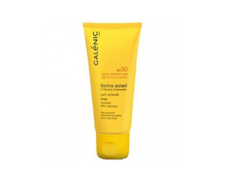 Galénic Soins Soleil SPF50 leche corporal 100ml