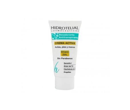 Hidrotelial hidratante desodorante antitranspirante crema 50ml