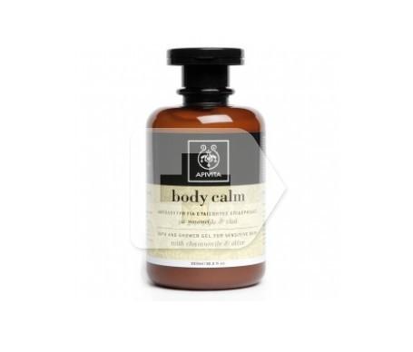 Apivita Body Calm gel baño ducha piel sensible 300ml