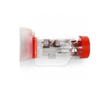 Aerochamber Plus Flow-vu cámara de inhalación neonatal 1ud
