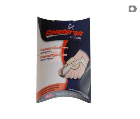 Comforsil corrector nocturno de juanetes pie izquierdo 1ud