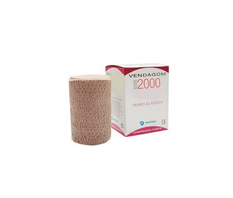 Medilast venda elástica compresión fuerte serie 2000 10mx10cm