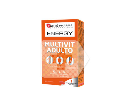 Energy Multivit Adulto 28comp