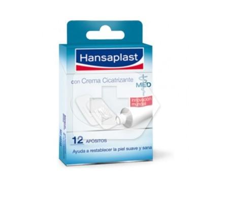 Hansaplast Med apósitos crema cicatrizante 12uds