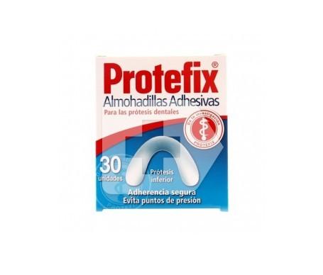 Protefix almohadilla inferior 30uds