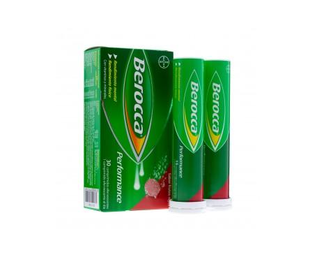 Berocca® Performance frutos rojos 30comp efervescentes