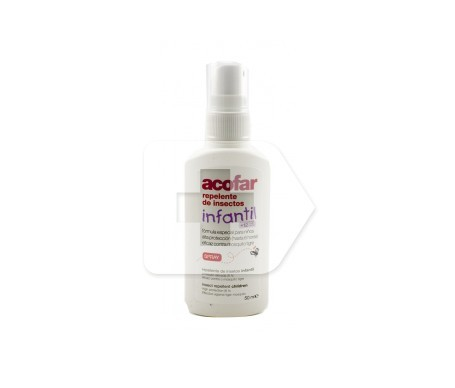 Acofar spray repelente infantil insectos 50ml
