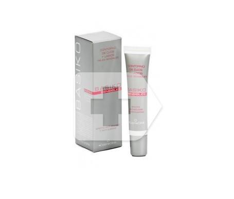 Cosmeclinik Basiko contorno de ojos y labios piel sensible 15ml