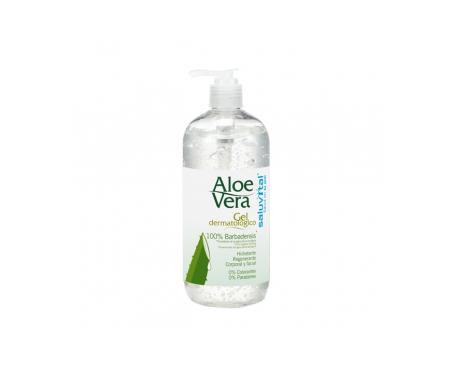 Saluvital Gel mit Aloe Vera 500 ml