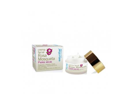 Saluvital crema de rosa mosqueta piel seca 50ml