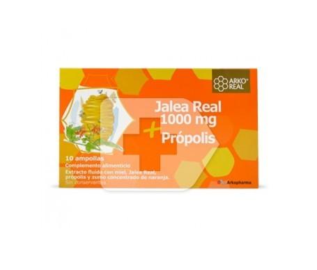 Arkoreal jalea real 1000mg + própolis 10amp