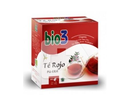 Bio3 Té Rojo PU-ERH 100 bolsitas