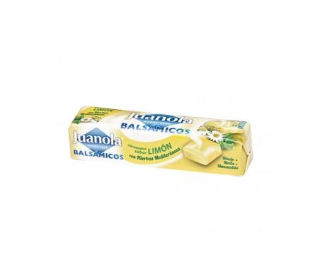 Juanola® caramelos balsámicos sabor limón y hierbas medicinales 30g