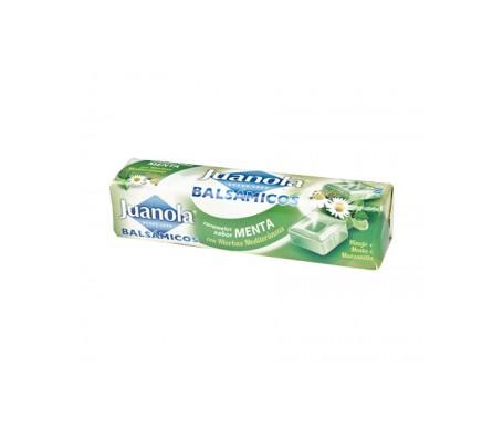 Juanola® caramelos balsámicos sabor menta y hierbas medicinales 30g