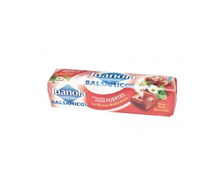 Juanola® caramelos balsámicos sabor regaliz y hierbas medicinales 30g